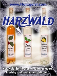 Harzwald Spirituosen